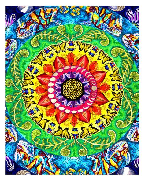 imagenes de mandalas rectangulares samsara mandala imprimer mod 232 le radial psych 233 d 233 lique planante