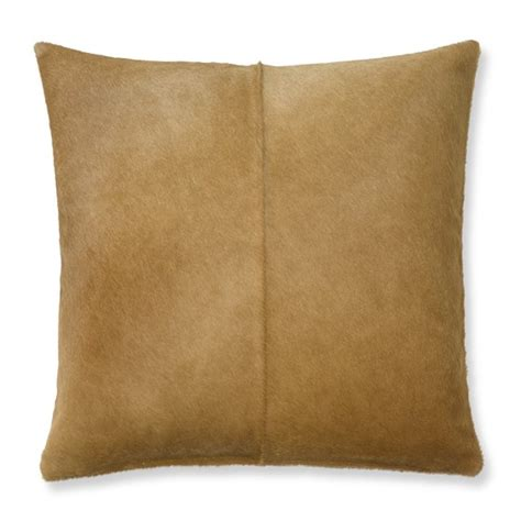 Hide Pillows by Solid Hide Pillow Cover Williams Sonoma