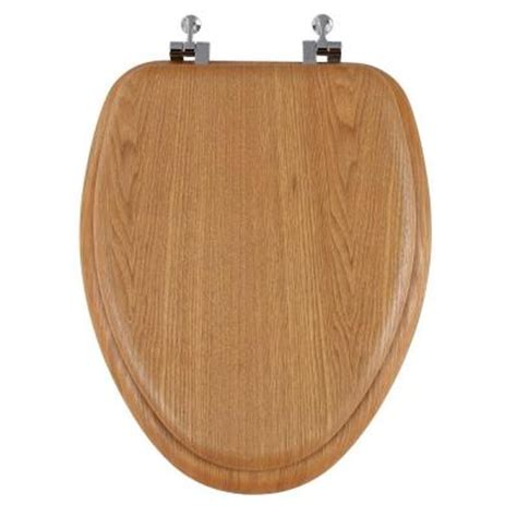 runfine standard elongated closed front toilet seat with