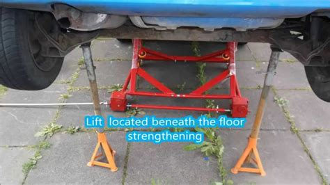 mobile car lift mobile car lift for lift small cars