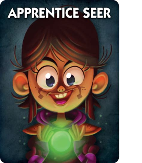 ultimate werewolf printable cards new role info the apprentice seer one night ultimate