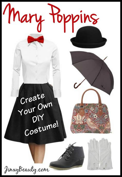 create   mary poppins diy costume