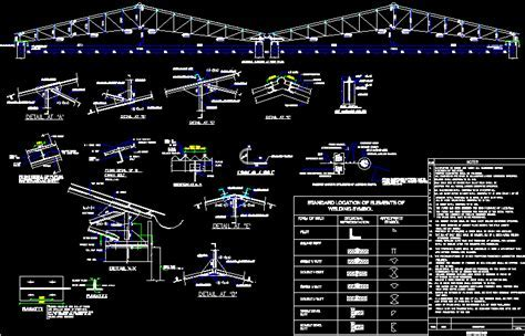 Truss detail in AutoCAD   CAD download (177.2 KB)   Bibliocad