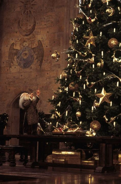 christmas at hogwarts filius fliwick harry potter