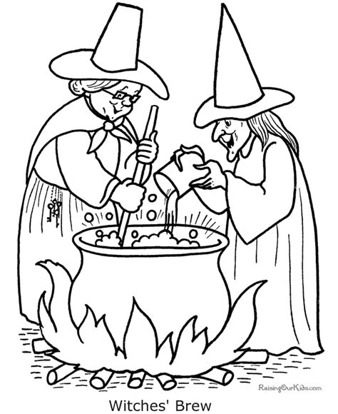 halloween coloring pages free printable witch halloween coloring pages provide hours