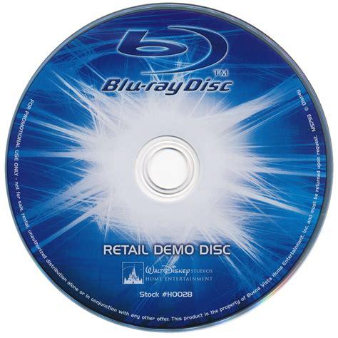 Bluray On disney retail demo disc