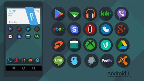 themes launcher for android next launcher theme android l by karsakoff on deviantart