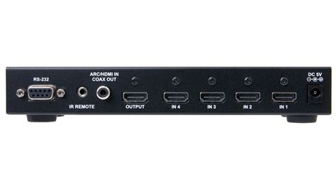 Connector Vernon 4 X 1 Hdmi Switcher hd 4x1 hdmi switcher 4 input x 1 output us power supply