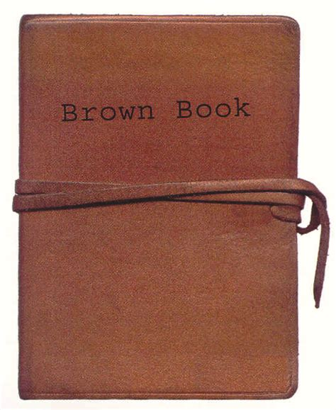 Book Book A Brown Book Of Non Evidence Rickylawton