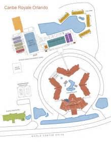 Google Map Of Orlando by Caribe Royale Orlando Map Downloadable Resort Map Pdf