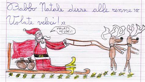 testi umoristici brevi babbo natale e le renne scheda di verifica per la