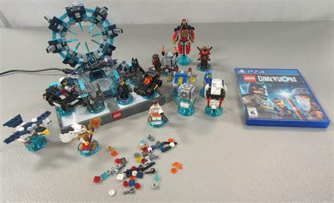 Lego Ps4 ps4 lego dimensions batman starter bundle plus portal pieces parts lot ebay