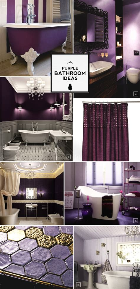 purple bathroom decorating ideas pictures color guide purple bathroom ideas and designs home tree