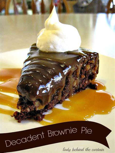Big Pie Brownis chocolate frosted brownies