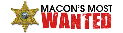 Macon County Warrant Search Most Wanted Macon County Sheriff S Office Macon Nc