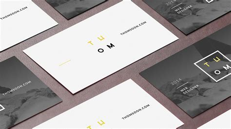 business card template layout 10up psd 7 business cards mockup thomsoon branding ui web