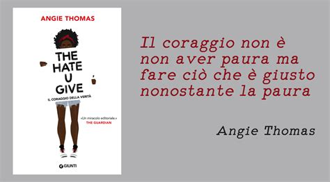 The U Give By Angie Ebook E Book il fermacarte the u give angie il pungolo