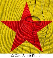communist colors communist sign golden communist symbol
