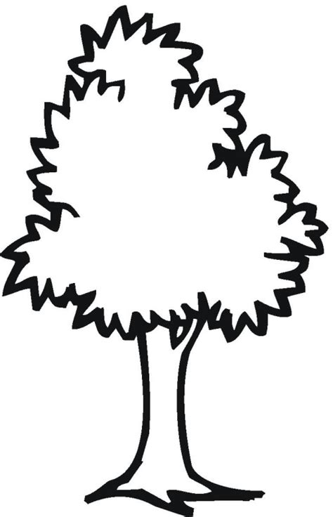 green tree coloring page green tree coloring pages