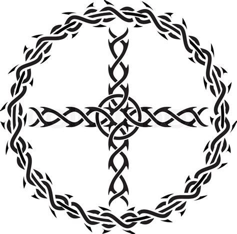 tattoo stencil paper wiki tattoo cross stencil vector illustration for web stock