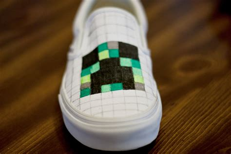diy minecraft shoes diy minecraft shoes