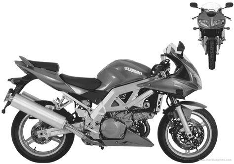 Suzuki Sv1000s 2003 The Blueprints Blueprints Gt Motorcycles Gt Suzuki
