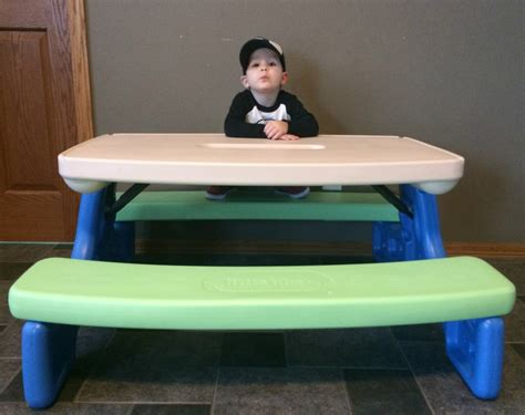 Tikes Easy Store Table by Tikes Easy Store Picnic Table Giveaway Momma In