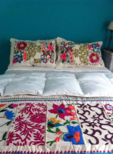mexican embroidered bedding 17 best ideas for the house images on pinterest ghana