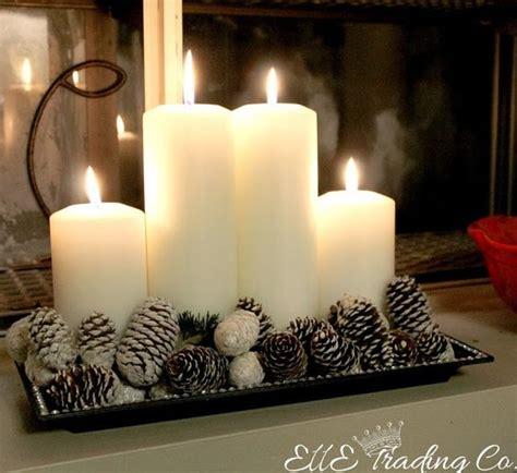 composizioni natalizie con candele composizioni natalizie con le candele ecco 20 idee