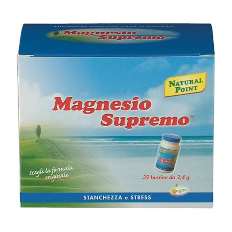 magnesio supremo bambini magnesio supremo 174 bustine shop farmacia it