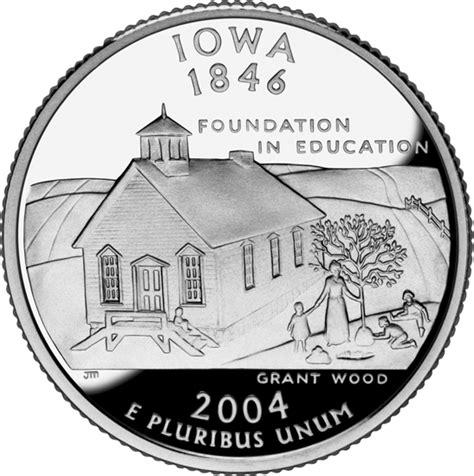 Iowa State Quarter 50states Com