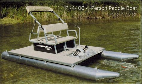 what is a paddle boat paddle king pk4400 4 person paddle boat t m marine