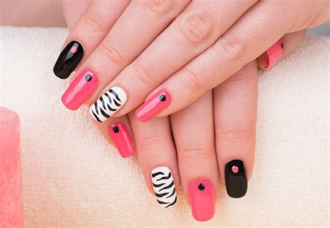 nail design tips home 10 attractive nail art idea for girls healthy instant tips