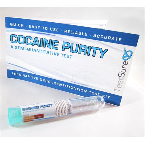 purity test cocaine purity test kit determine purity of cocaine