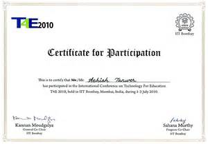 conference certificate template ieee international conference on technology for education