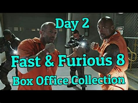 fast and furious 8 box office fast and the furious 8 box office collection day 2 youtube