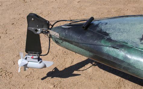 electric trolling motor on a canoe electric motor canoe electric motor