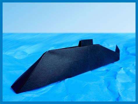 Origami Submarine - origami submarine joost langeveld origami page