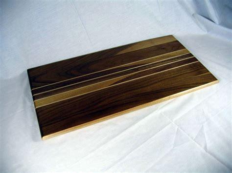 Kayukama Serving Board Mahogany Wood Cutting Serving Board Walnut And Maple Wood 10 X 20 X