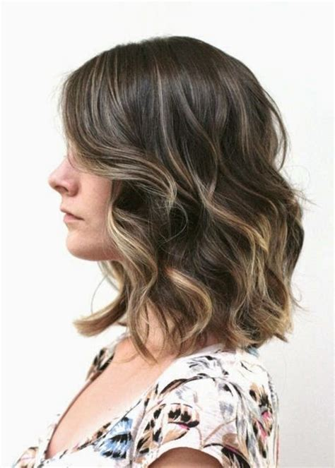 medium length hair with ombre highlights hairstyles 2014 7 amazing rich shades of brown hair