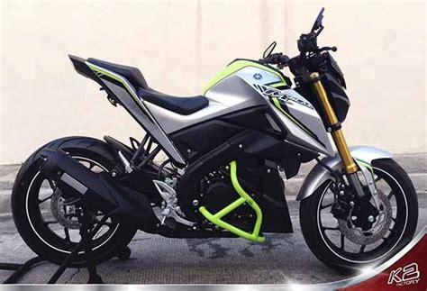 Up Side Only Yamaha Nmax Silver Fastbike yamaha mt 125 m slaz crash bars