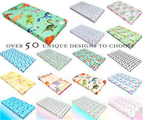 patterned cot bed sheet baby fitted sheet pram moses basket crib cardle cot cot