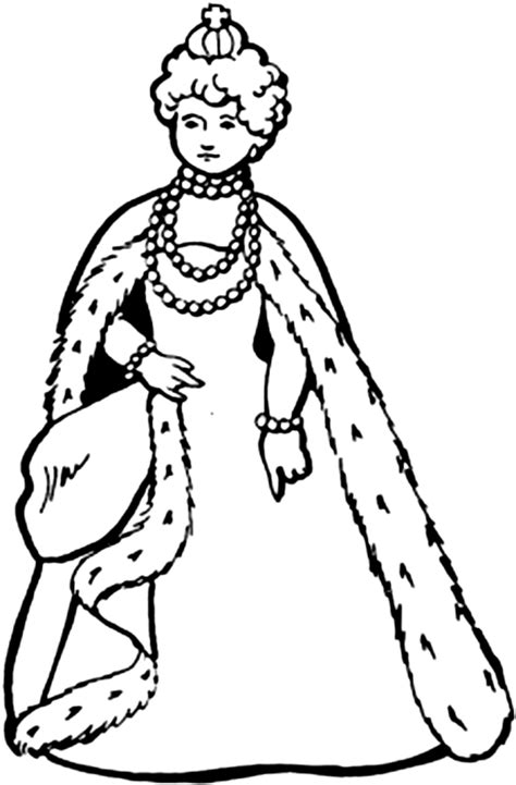 coloring pages of the queen queen coloring
