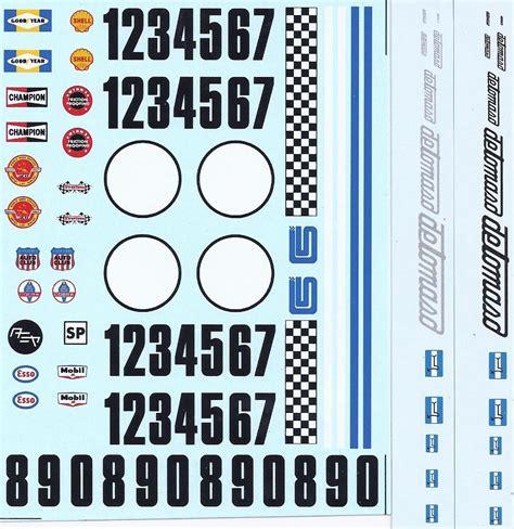 Decals Auto 1 32 by Slot Car Decals 1 24 Denver Clan Colorado