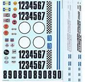DEC425 Tamiya King Cobra With Extra De Tomaso Logos 1/24