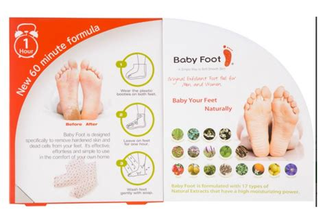 Test Baby Product by Product Test Review Baby Foot Exfoliant Inside Out Style