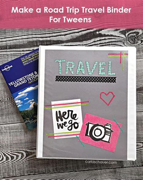 printable road trip games for tweens road trip travel binder for tweens tween binder and gaming