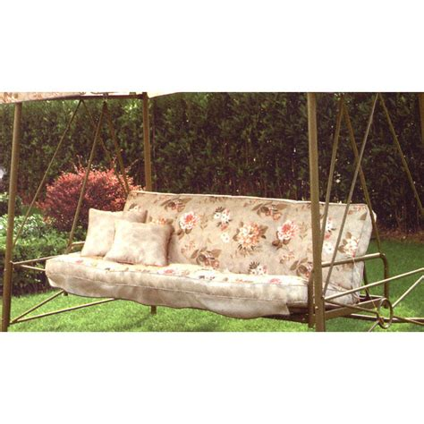 walmart swing cushion replacement walmart courtyard creations rus472w replacement cushion