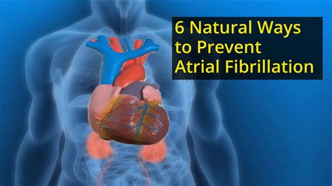 Six Great Ways To Prevent 6 Ways To Prevent Or Atrial Fibrillation