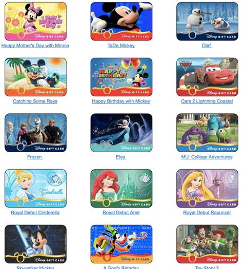 Where Can I Buy A Disney Gift Card - disney gift cards 101 touringplans com blog touringplans com blog